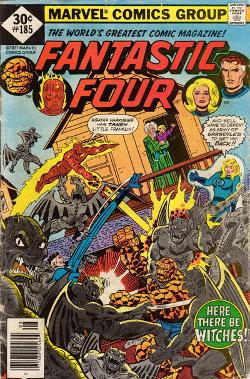 Fantastic Four # 185 August 1977