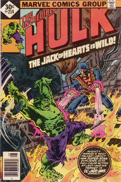 Hulk # 214 August 1977