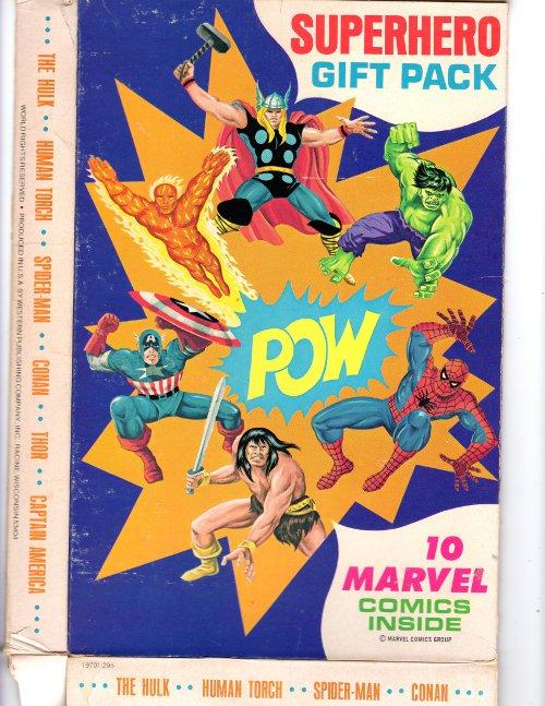 1977 Marvel Comics Gift Pack