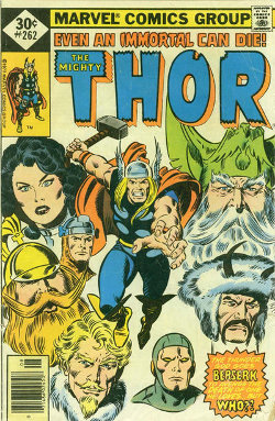 Thor # 262 August 1977