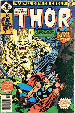 Thor # 263 September 1977