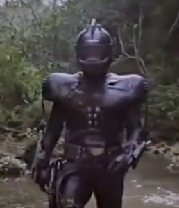 Y'know...most low budget movies with a cyborg make them look like a normal person for a reason.