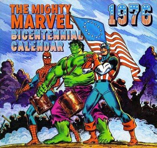 Marvel 1976 Bicentennial Calendar