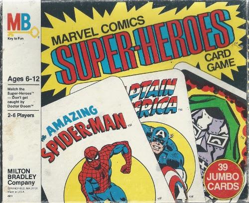 1978 Marvel Card Game Box