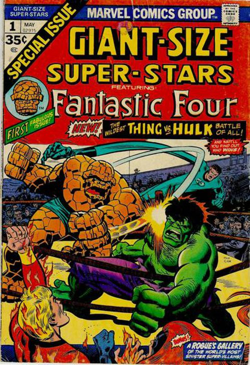 Giant-Size Super-Stars # 1 May 1974