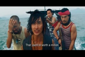 Bonus: Cameo by the Forest Gump of fighting game movies, Robin Shou.