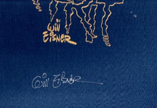 Will Eisner's signature on my Portfolio