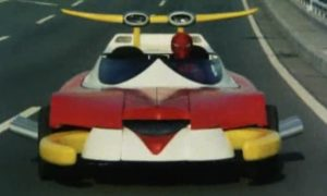 Spider Machine GP-7, still more dignified than the Spider-Mobile.