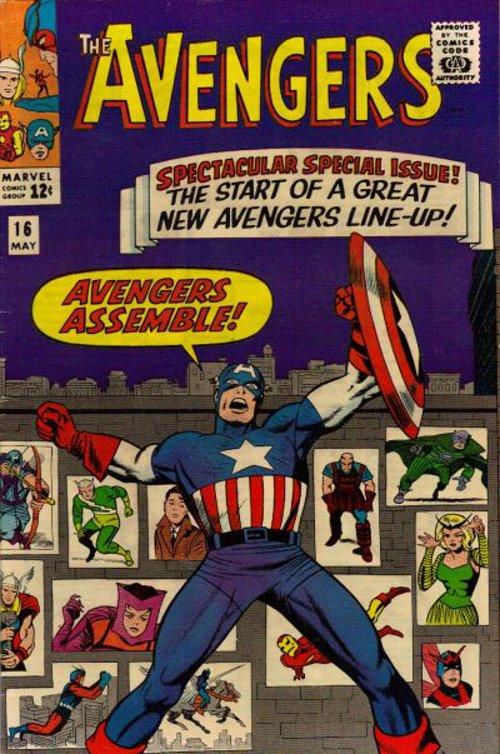 Avengers # 16 May 1965