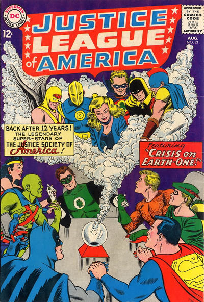 Justice League of America # 21   August 1963