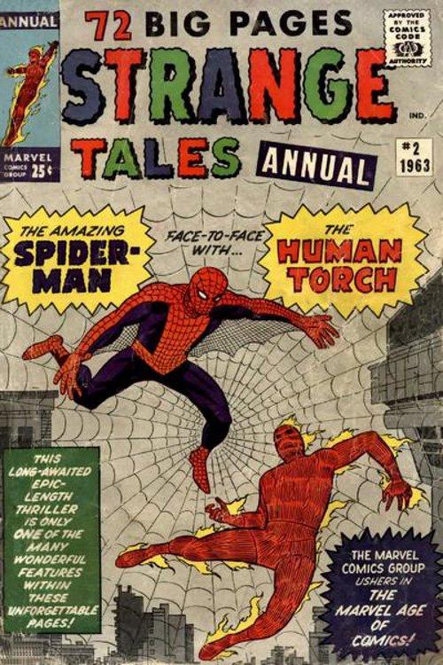 Strange Tales Annual # 2 September 1963