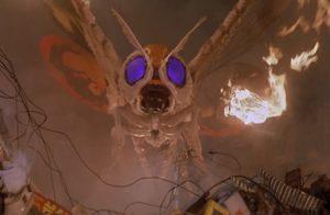 Mothra, looking incredibly bad ass.