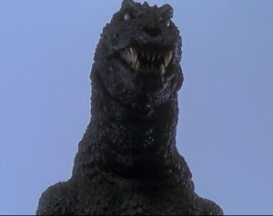 The significantly-less-benevolent-than-usual King of Monsters!