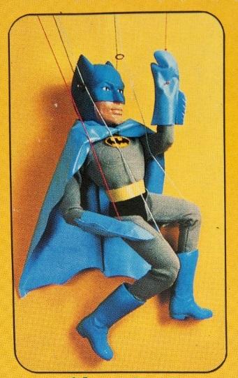 1977 Batman string puppet