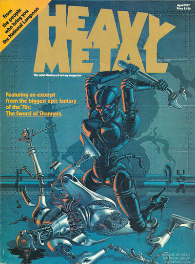 Heavy Metal # 1 April 1977