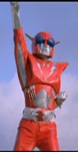 Inframan himself, who could be slipped into a crowd of Kamen Riders without raiding eyebrows.