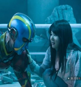 I'm sure you're shocked that Mistuko becomes the hero's love interest.