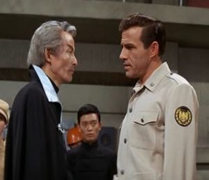 Dr. Who, enemy of Christmas, squares off with Commander Nelson, the most rough and tumble science explorer this side of Starfleet.