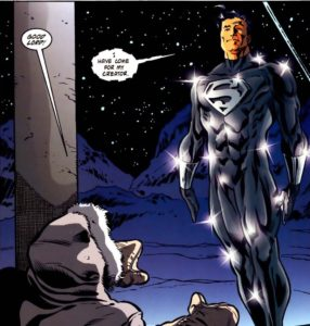 Superman's Fortress of Solitude pairs well with the ending of Shelley's novel.