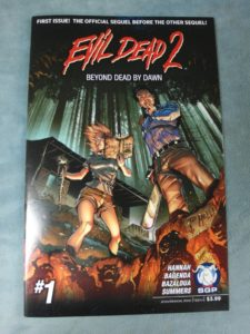 Our auction has an Evil Dead 2 comic in it, coincidentally.