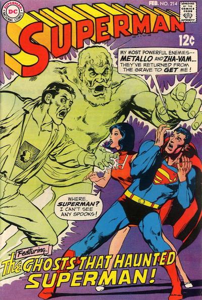 Superman # 214 February 1969