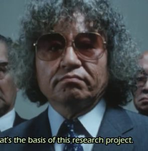 Mr. Ishinomori, visiting from the 70s based on the hair and glasses.