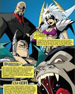 Lord Mammon, Tiffany, Overtkill, and Cy-Gor - The Forces of Darkness!