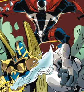 Spawn X, Spawn Omega, and The Redeemer - The Forces of Light!