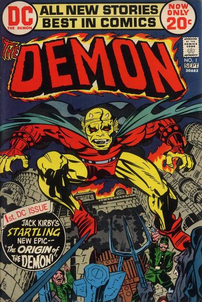 Demon # 1 September 1972