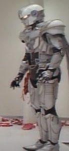 Michael, evil robot angel