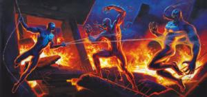 Spiderman-Upper Deck-Hildebrandt