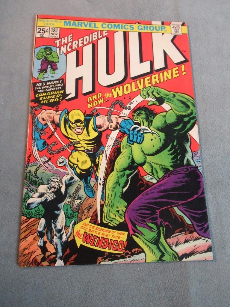 Marvel Incredible Hulk #181