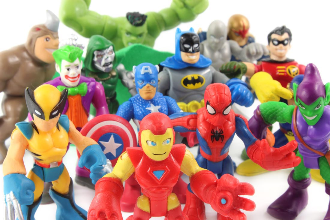 action figure collection