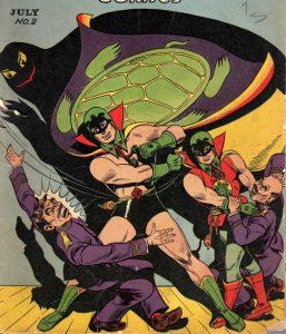 Blazing Comics #2 Green Turtle Burma Boy