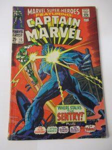 Marvel Super Heroes Captain Marvel Carol Danvers First Appearance
